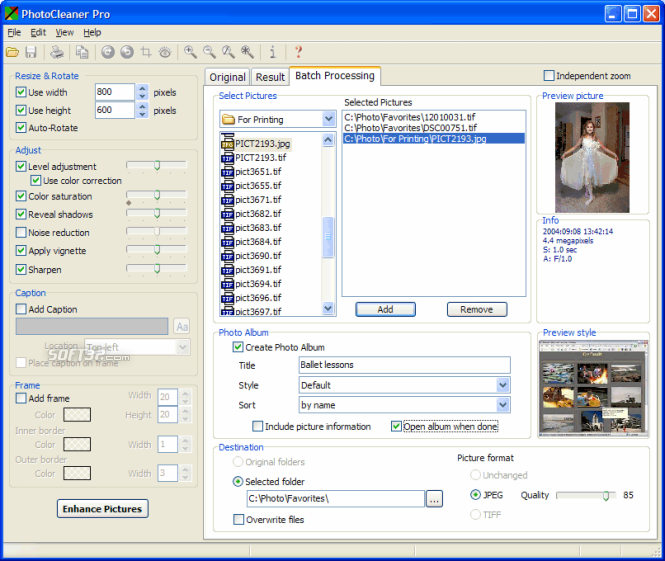 PhotoCleaner Professional Screenshot 2