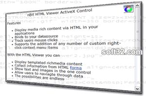 nBit HTML Viewer ActiveX Screenshot 2