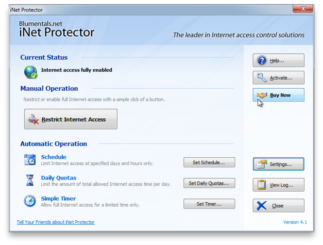 iNet Protector Screenshot 4