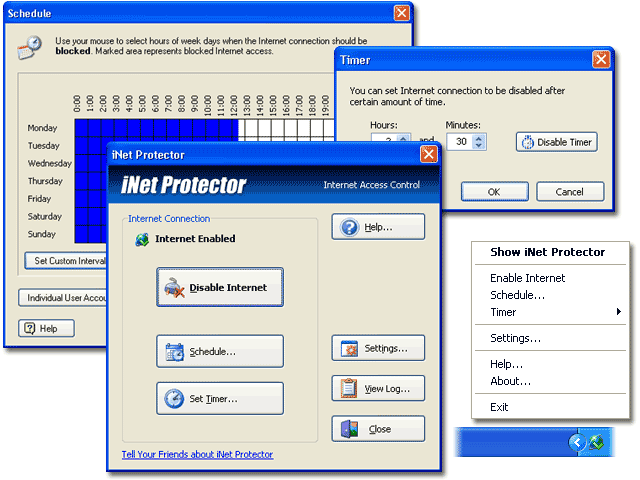 iNet Protector Screenshot 1