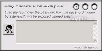 Easy Password Recovery Screenshot 1