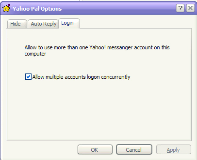 Yahoo Pal Screenshot