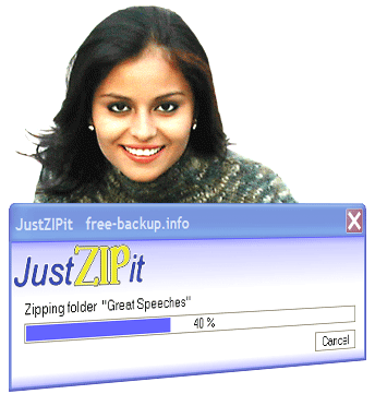 JustZIPit Screenshot