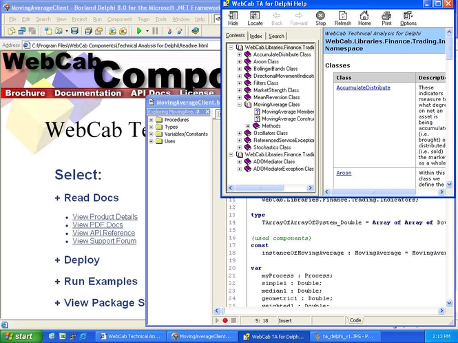 WebCab TA for Delphi (Community Edition) Screenshot