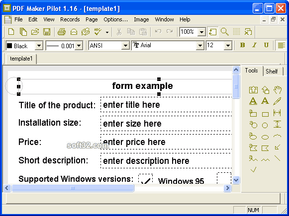 PDF Maker Pilot Screenshot 3