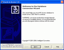 Oracle-to-Access Screenshot 2