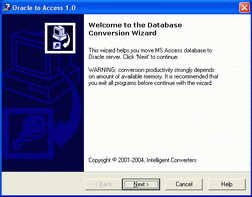 Oracle-to-Access Screenshot