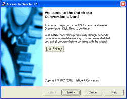 Access-to-Oracle Screenshot