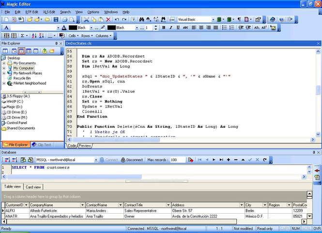 Magic Editor Screenshot