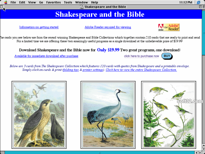 Shakespeare and the Bible Screenshot 2