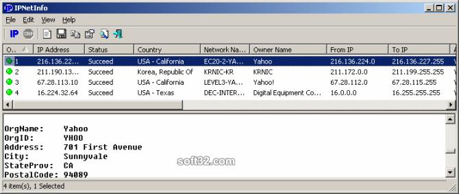 IPNetInfo Screenshot 3