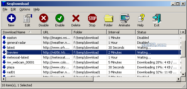 SeqDownload Screenshot 3