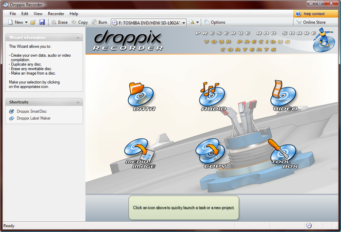Droppix Recorder Screenshot