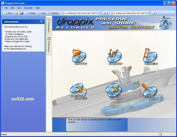Droppix Recorder Screenshot 2