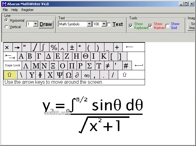 Abacus Math Writer Screenshot 2