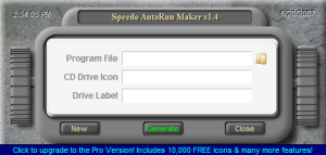 Speedo Autorun Maker Screenshot