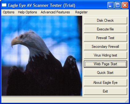 AV EAGLE Secuity Testing Suite CD .ISO Screenshot