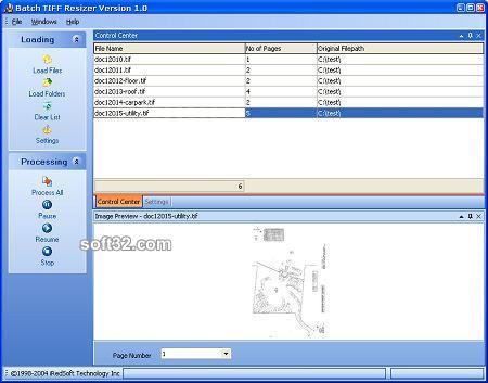 Batch TIFF Resizer Screenshot 2