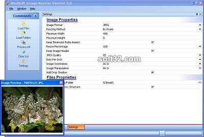 iRedSoft Image Resizer Screenshot