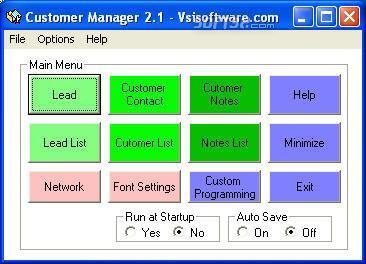 Customer Manager Buddy Screenshot 2