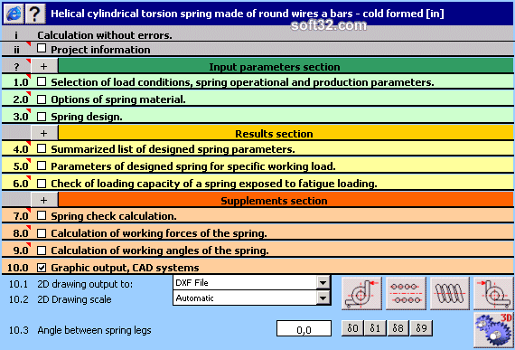 MITCalc - Torsion Springs Screenshot 3
