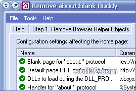 Remove about:blank Buddy Screenshot 3
