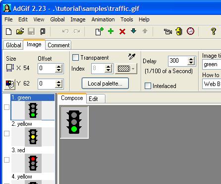 Advanced GIF Animator Screenshot