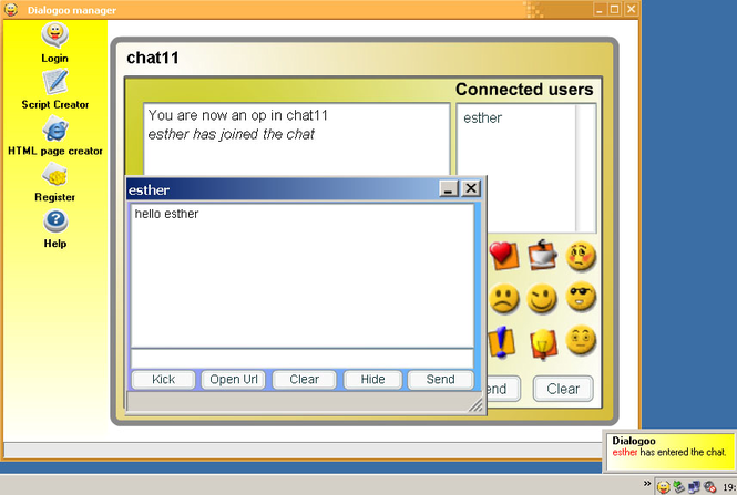 Dialogoo Screenshot