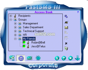 FastSMS III Corporate Screenshot 1