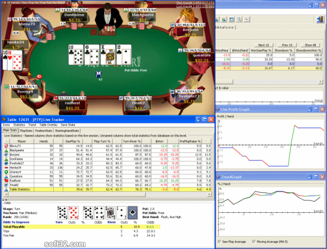 PokerOffice Screenshot