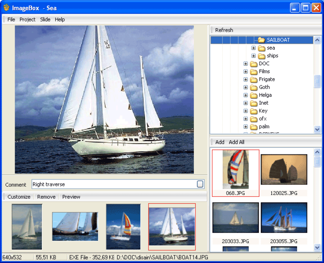 ImageBox Screenshot
