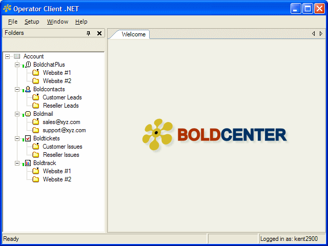 Boldcenter Operator Client .NET Screenshot 1