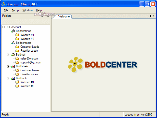 Boldcenter Operator Client .NET Screenshot 3