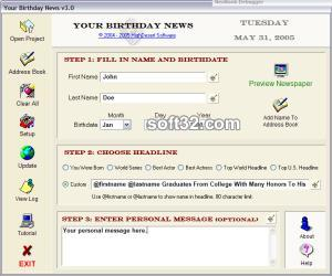 Your Birthday News Screenshot 2