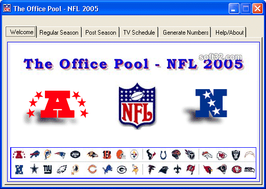 NFL Office Pool Screenshot 2