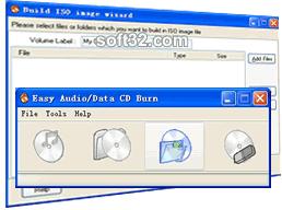 Easy Audio/Data CD/DVD Burner Screenshot 2