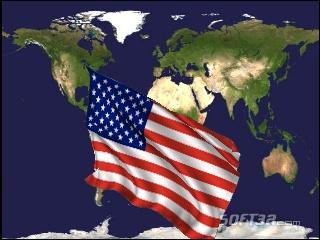 World Flags Screensaver Screenshot 2