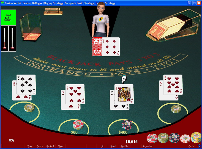 Casino Verite Blackjack Screenshot