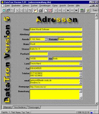 DataTron Screenshot