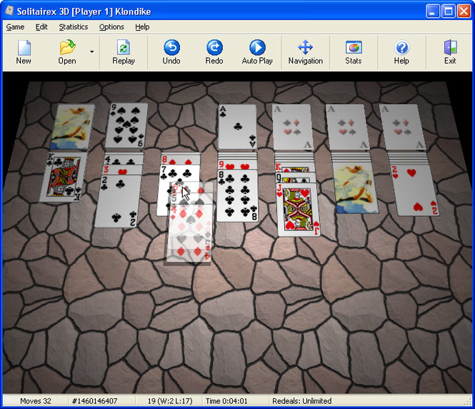 Solitairex 3D Screenshot