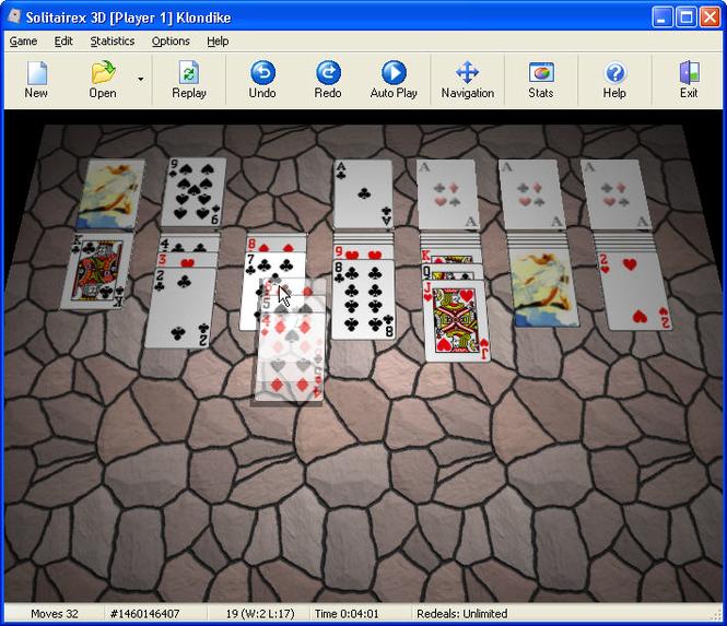 Solitairex 3D Screenshot 1
