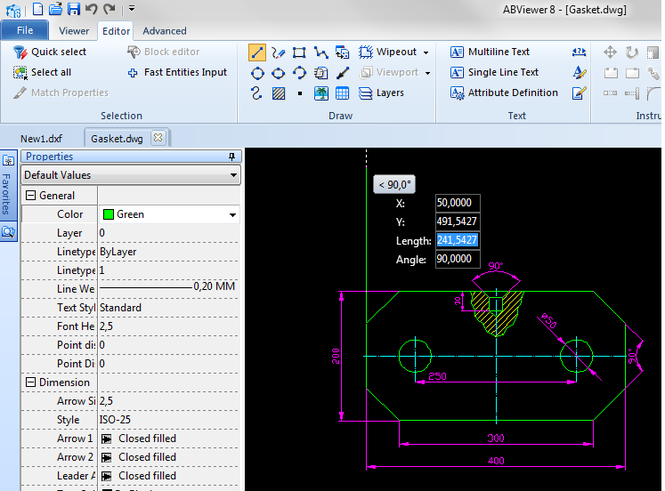2D Viewer & Editor: DWG DXF PLT TIFF CGM Screenshot 1