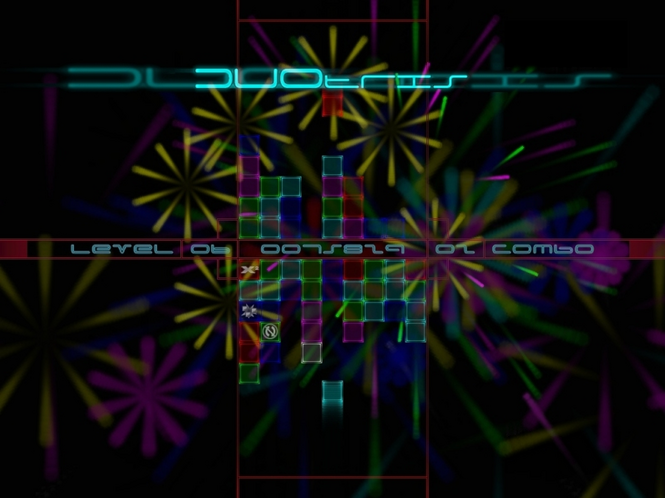 DUOtris Screenshot