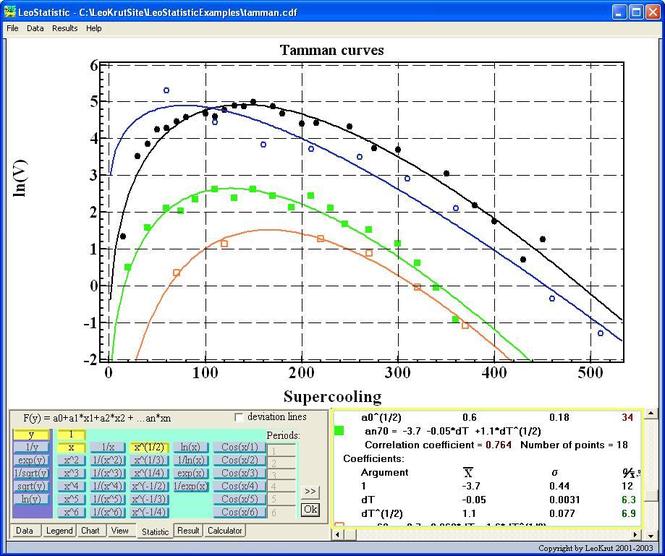 LeoStatistic Screenshot 1