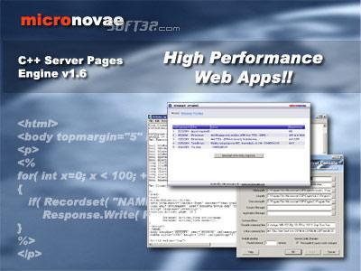 C++ Server Pages Screenshot 3