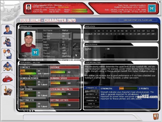 Inside the Park Baseball Screenshot 3