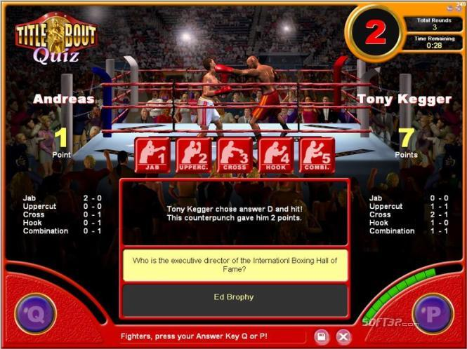 Title Bout Boxing Quiz Screenshot 3