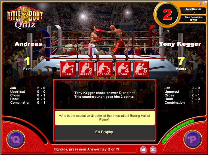 Title Bout Boxing Quiz Screenshot 1