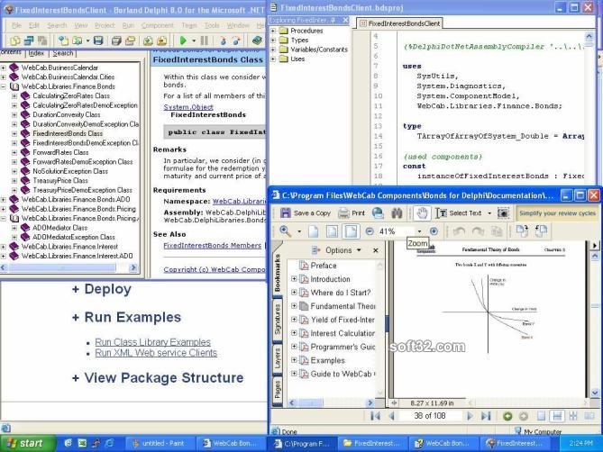 WebCab Bonds for Delphi Screenshot 3