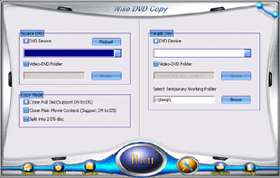 Wise DVD Copy Screenshot